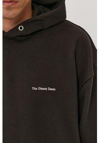 The Classy Issue - Bluza bawełniana. Okazja: na co dzień. Typ kołnierza: kaptur. Kolor: czarny. Materiał: bawełna. Styl: casual