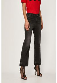 Czarne jeansy Miss Sixty z aplikacjami
