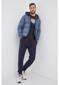 s.Oliver - T-shirt bawełniany. Okazja: na co dzień. Kolor: niebieski. Materiał: bawełna. Wzór: nadruk. Styl: casual