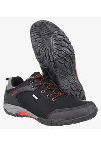 Casu - Czarne buty trekkingowe casu mxc7567/8. Kolor: czarny