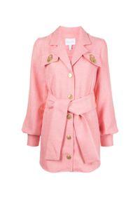 ALICE MCCALL - Różowa marynarka Queenie. Kolor: różowy, fioletowy, wielokolorowy. Materiał: materiał