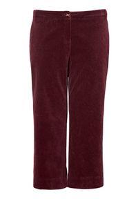 Czerwone spodnie Zhenzi z aplikacjami