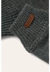 Szare rękawiczki Barts