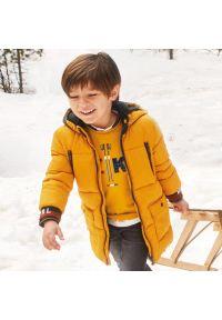 Pomarańczowa kurtka zimowa Mayoral