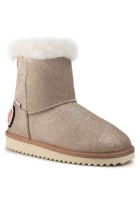 Złote śniegowce Pepe Jeans
