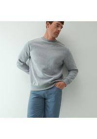 Reserved - Klasyczne bawełniane szorty - Niebieski. Kolor: niebieski. Materiał: bawełna. Styl: klasyczny
