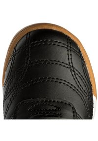 Kappa - Półbuty KAPPA - Kickoff K 260509K Black/Yellow 1140. Okazja: na co dzień. Zapięcie: rzepy. Kolor: czarny. Materiał: skóra ekologiczna, materiał. Szerokość cholewki: normalna. Styl: casual