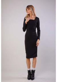 Czarna sukienka Nommo elegancka
