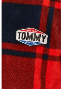 Niebieska kurtka Tommy Jeans casualowa, bez kaptura