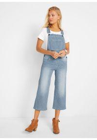 Niebieskie jeansy bonprix w paski, casualowe, na co dzień