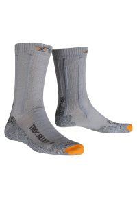 Skarpety X-Socks Trekking Silver X20318. Materiał: włókno. Sport: turystyka piesza