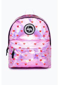 Różowy plecak Hype