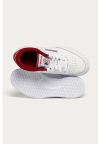 Białe buty sportowe Reebok Classic Reebok Classic, na sznurówki, z cholewką