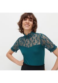 Bluzka Reserved w koronkowe wzory