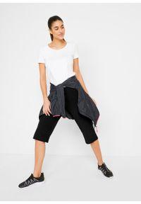 Czarne spodnie bonprix sportowe, krótkie