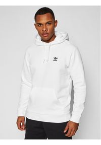 Adidas - adidas Bluza Trefoil Essentials GP0931 Biały Regular Fit. Kolor: biały