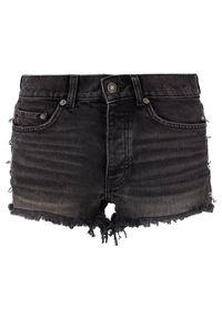 Czarne szorty jeansowe The Kooples