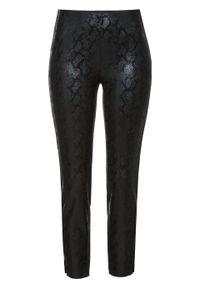 Czarne spodnie bonprix eleganckie