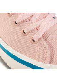 Big-Star - Tenisówki BIG STAR - FF274A068 Lt.Pink. Okazja: na co dzień. Kolor: różowy. Materiał: materiał. Szerokość cholewki: normalna. Obcas: na płaskiej podeszwie. Styl: casual