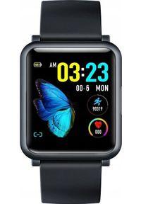 Czarny zegarek GepardWatches smartwatch