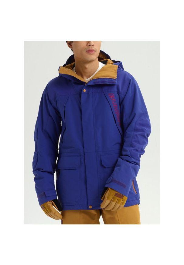Niebieska kurtka narciarska Burton
