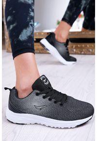 Czarne buty sportowe IVET na fitness i siłownię, na co dzień