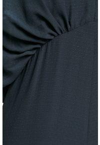 Samsoe & Samsoe - Samsoe Samsoe - Kombinezon. Kolor: niebieski. Długość rękawa: krótki rękaw. Długość: krótkie #3