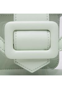 DeeZee - Torebka DEEZEE - RX5074 Green. Kolor: zielony. Materiał: skórzane. Rodzaj torebki: na ramię