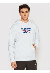 Reebok Classic - Reebok Bluza Classics Foundation Vector GU3874 Szary Oversize. Kolor: szary