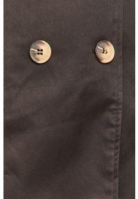 Czarny płaszcz Answear Lab na co dzień, bez kaptura, wakacyjny #7