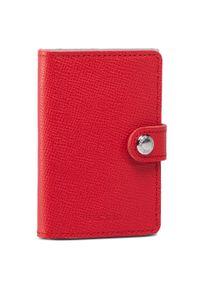 Czerwony portfel Secrid