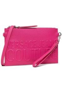 Versace Jeans Couture - Torebka VERSACE JEANS COUTURE - E1VWABRX 71882 401. Kolor: różowy. Materiał: skórzane. Styl: klasyczny. Rodzaj torebki: na ramię