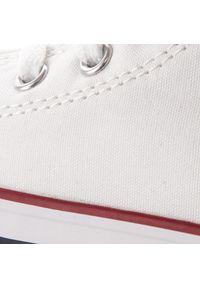 Białe kozaki Converse z cholewką