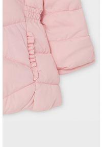 Różowa kurtka Mayoral na co dzień, casualowa, z kapturem