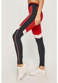 Czerwone legginsy Tommy Sport