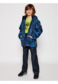 Reima Kurtka zimowa Nappa 521613 Granatowy Regular Fit. Kolor: niebieski. Sezon: zima