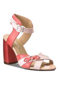 Różowe sandały Maccioni