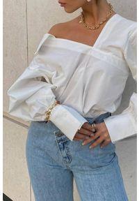 Biała bluzka IVET casualowa, na co dzień