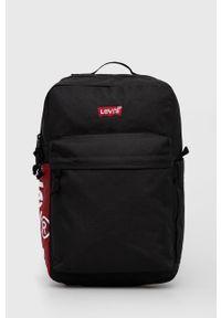 Levi's® - Levi's - Plecak. Kolor: czarny. Materiał: poliester. Styl: biznesowy