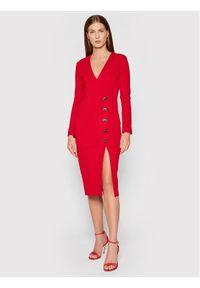 Pinko Sukienka koktajlowa Adler 1G16TV 1739 Czerwony Regular Fit. Kolor: czerwony. Styl: wizytowy