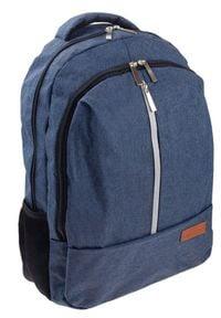 ROVICKY - Plecak męski granatowy Rovicky NB9761-4443 NAVY. Kolor: niebieski. Materiał: materiał. Styl: klasyczny, sportowy